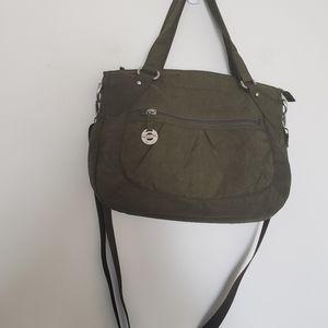 Handbags - Travelon crossbody bag in army green